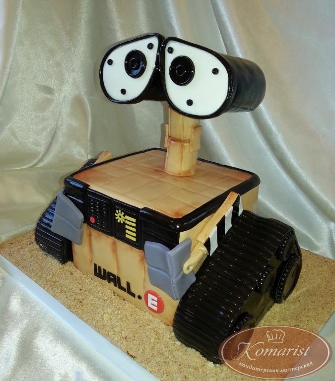 Как сделать торт робота 565