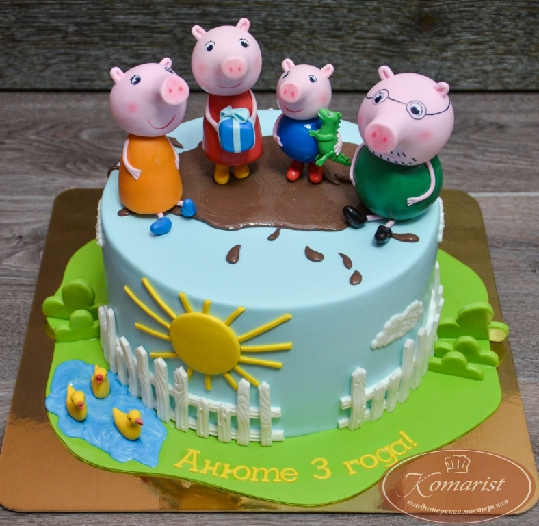 Установить подложку и аккуратным движением перевернуть торт.